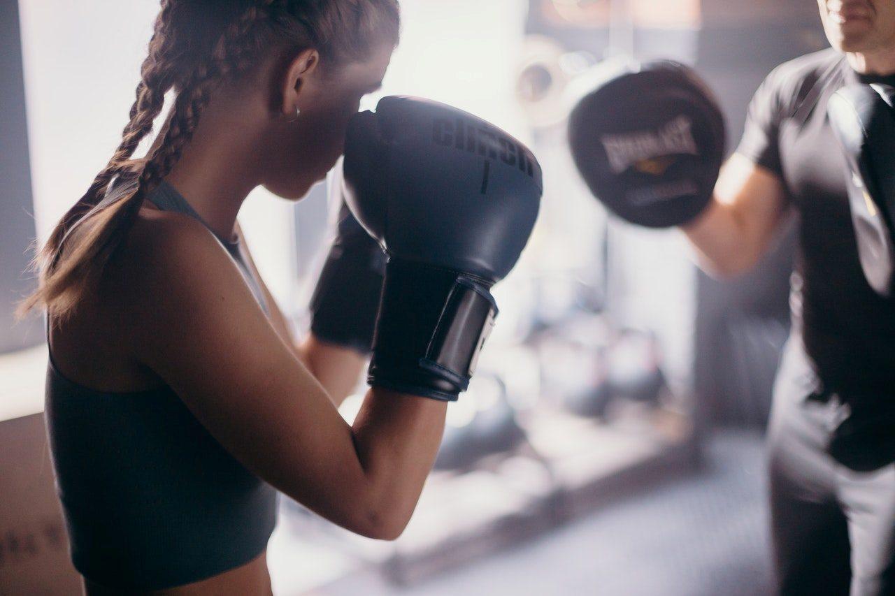 Personal trainer boxe